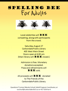 spelling bee Aug 27